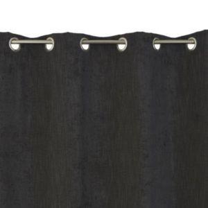 Rideau COLOURS Spanish gris foncé 140 x 240 cm | Castorama