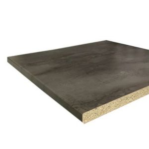 plan de travail stratifi effet m talis hydrofuge oxyde irony 280 x 62 cm mm vendu la. Black Bedroom Furniture Sets. Home Design Ideas