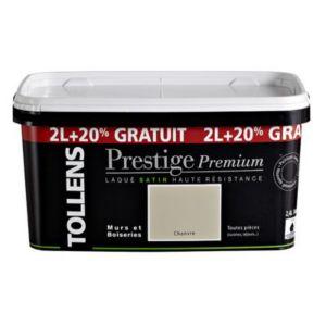 peinture murs et boiseries tollens prestige premium chanvre satin 2l 20 gratuit castorama. Black Bedroom Furniture Sets. Home Design Ideas