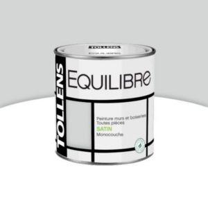 peinture murs et boiseries tollens equilibre gris de l 39 instant satin 0 5l castorama. Black Bedroom Furniture Sets. Home Design Ideas