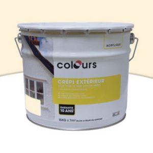 peinture cr pi ext rieur colours ton pierre 15kg castorama. Black Bedroom Furniture Sets. Home Design Ideas