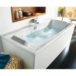 tablier de baignoire allibert clips 180 cm castorama. Black Bedroom Furniture Sets. Home Design Ideas