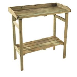Table de rempotage foreststyle flora 80 x 40 x cm - Tables pliantes castorama ...