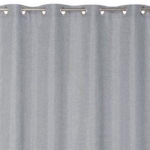Rideau thermique gris 135 x 240 cm   Castorama