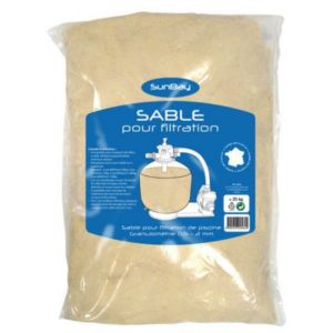 Sable de filtration piscine sunbay 25kg castorama for Sable de filtration pour piscine
