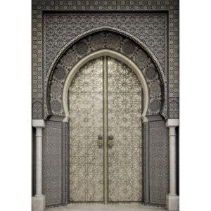 toile sur ch ssis porte orientale strass 65 x 92 5 cm castorama. Black Bedroom Furniture Sets. Home Design Ideas