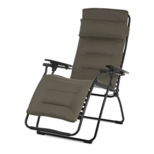 Relax Metal Et Toile Lafuma Futura Air Comfort Taupe Castorama
