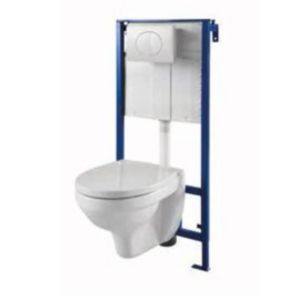 pack wc suspendu primo castorama. Black Bedroom Furniture Sets. Home Design Ideas