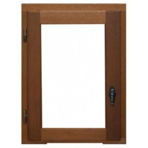 Fenêtre Bois 1 Vantail Ouverture à La Française Tirant Droit 40 X H