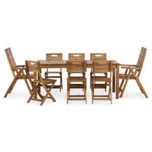 Lot Table De Jardin Denia 4 Chaises De Jardin 2 Fauteuils De