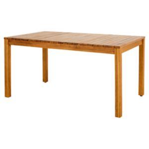 Table de jardin bois rectangulaire Blooma Denia 150 x 90 cm   Castorama