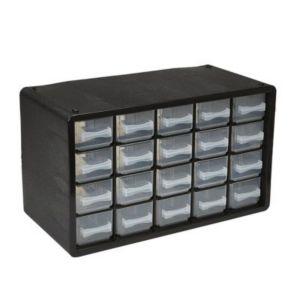 Casier De Rangement Plastique 20 Tiroirs Castorama