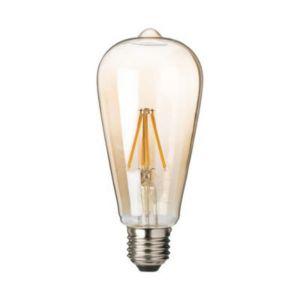Ampoule Filament Led T26 Pygmy E27 5w 40w Blanc Chaud Castorama