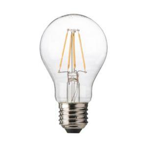 Ampoule Filament Led E27 7 5w 60w Blanc Chaud Castorama