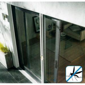 Moustiquaire Plissée Pour Porte Kocoon 120 X H220 Cm Castorama