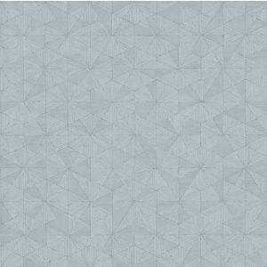 c07677a6a74 Papier peint vinyle sur intissé Lutèce géométrique bleu clair ...