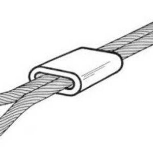 6 Manchons Alu Pour Câble Diall ø 2 Mm Castorama