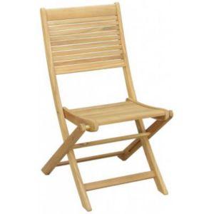 Chaise En Teck Roscana Pliante