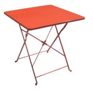 table de jardin saba vegas pliante 70 x 70 cm castorama. Black Bedroom Furniture Sets. Home Design Ideas
