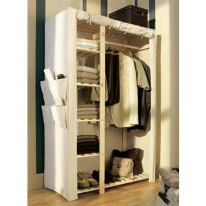 penderie et portant castorama. Black Bedroom Furniture Sets. Home Design Ideas