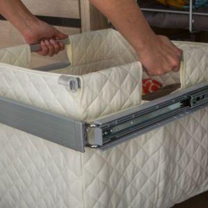 panier linge form darwin 50 cm castorama. Black Bedroom Furniture Sets. Home Design Ideas