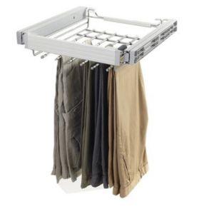 porte pantalon acier form darwin 50 cm castorama. Black Bedroom Furniture Sets. Home Design Ideas