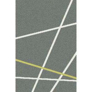 Tapis Rayures Grisjaune X Cm Castorama - Plinthe carrelage et tapis enfant jaune