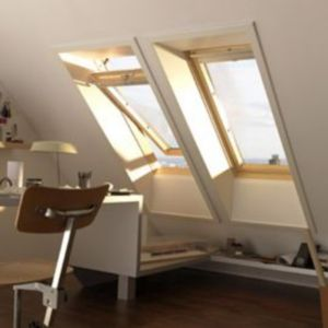 fen tre de toit rotation velux ggl tout confort bois. Black Bedroom Furniture Sets. Home Design Ideas