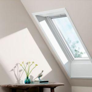 Fenêtre De Toit à Rotation Velux Ggu Confort Blanc Mk04 55 X H78 Cm