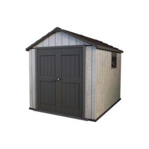 abri de jardin polypropyl ne keter oakland 759 5 25m. Black Bedroom Furniture Sets. Home Design Ideas