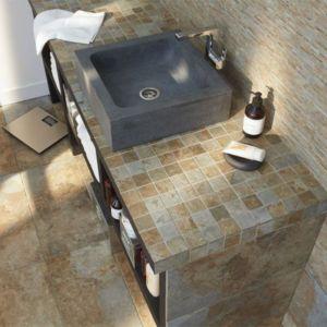 Carrelage Intérieur Sol Et Mural Castorama - Carrelage salle de bain et code reduction tapis champ de fleurs