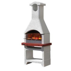 barbecue fixe b ton sunday jamaica castorama. Black Bedroom Furniture Sets. Home Design Ideas