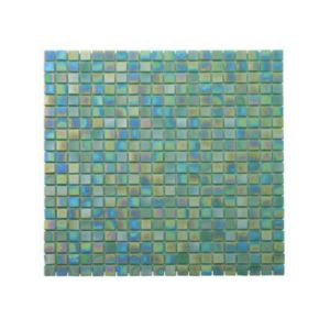 Mosaïque murale perle turquoise 30 x 30 cm Akira | Castorama
