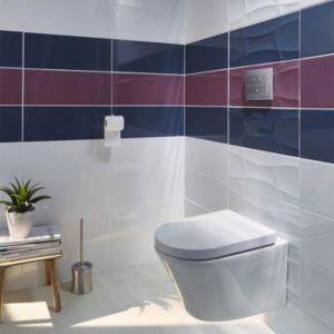 carrelage mur violet 20 x 50 cm emotion castorama. Black Bedroom Furniture Sets. Home Design Ideas