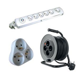 Voir Rallonge électrique, enrouleur électrique et multiprise details