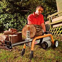 Voir Scie circulaire et fendeuse à bois details