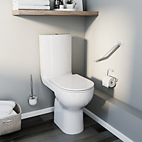 great voir wc poser details with wc surelev sortie verticale brico depot. Black Bedroom Furniture Sets. Home Design Ideas