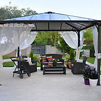 parasol tonnelle store de terrasse et voile d 39 ombrage castorama. Black Bedroom Furniture Sets. Home Design Ideas