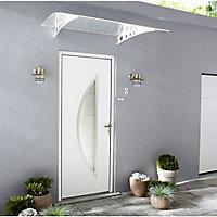 Porte Extérieure De Service Et Porte De Garage Castorama - Encadrement porte d entree