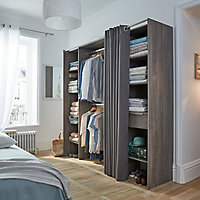 dressing et rangement castorama. Black Bedroom Furniture Sets. Home Design Ideas