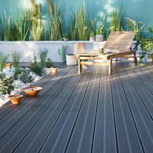 Voir Dalle et lame terrasse bois, composite, clipsable details