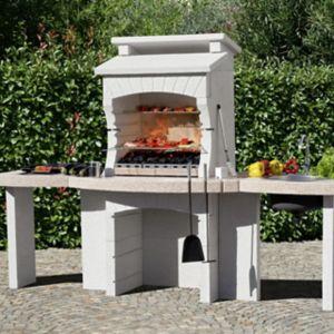 Voir Barbecue fixe béton et pierre details