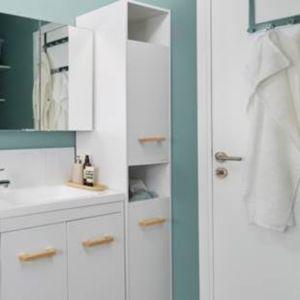 Voir Colonne de rangement de salle de bains details