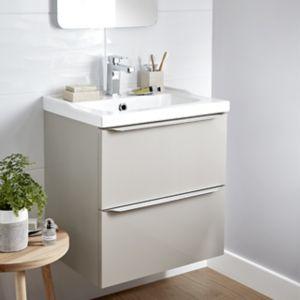 meuble salle de bain avec vasque castorama