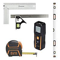 Voir Mètre, niveau et outils de mesure et traçage details