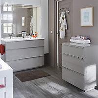 voir commode de salle de bains details