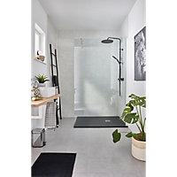 Voir La salle de bains d'une maison 1960 details