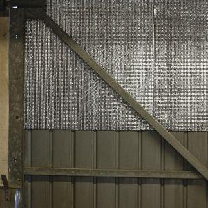 Voir Isolation de la porte de garage details