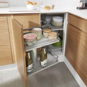 Voir Rangement intérieur meuble de cuisine details