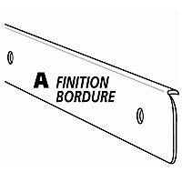 Profil de finition 1 aluminium 38 mm